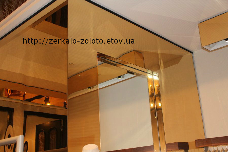 Фото - Зеркало золото. Золотое зеркало. Golden Mirror. Ua.Производим сами.