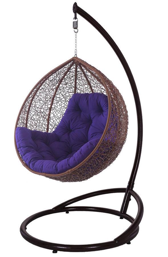 Фото 5 - Купить садовые качели, подвесное кресло кокон в Львове