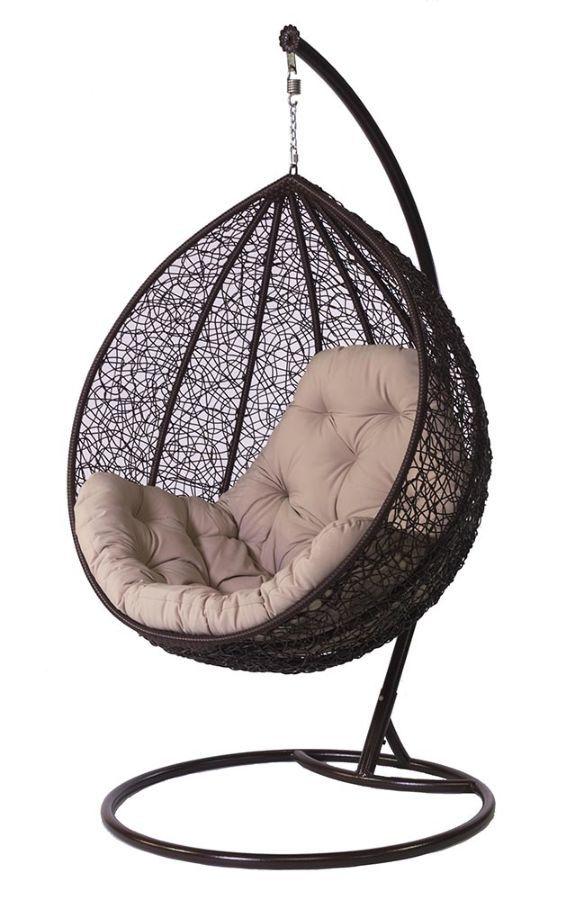 Фото - Купить садовые качели, подвесное кресло кокон в Львове