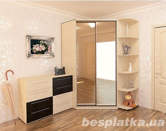 шкафы купе угловые 3 360 грн мебель для прихожей днепр