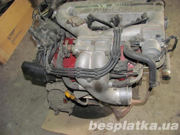 Продам б\у двигатель на NISSAN Maxima 1992г 3,0л