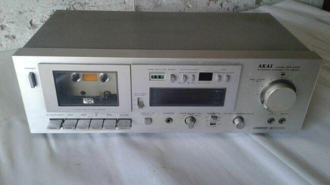 """Магнитофон """"technics Rs-t130"""" """"akai Hx-a3x"""" 8"""