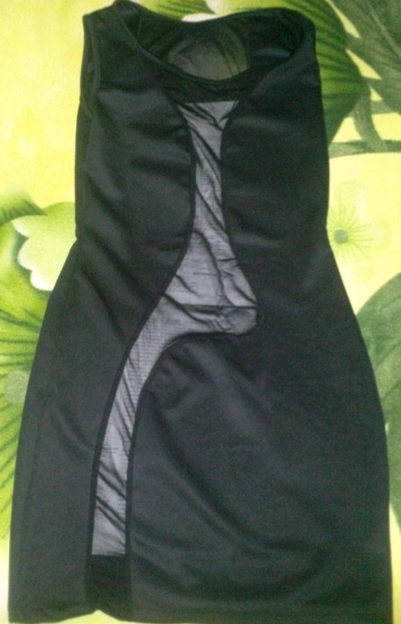 Черное  платье -  новое