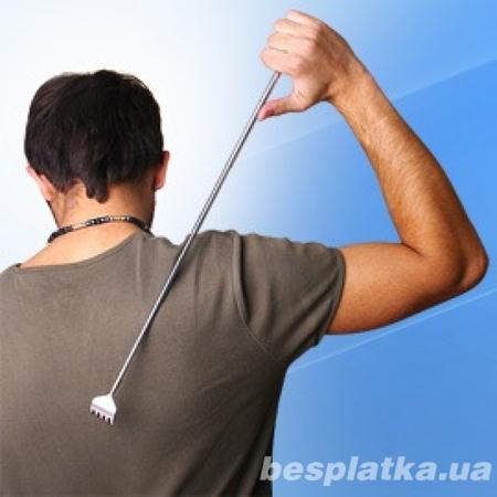 Массажер для спины, чесалка для спины, спиночес, телескопический