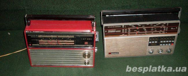 Продам радиоприёмник ВЭФ-202 и Океан 222, рабочие.