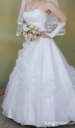 Фото - Продам свадебное платье в отличном состоянии