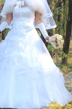 Фото 2 - Продам свадебное платье в отличном состоянии
