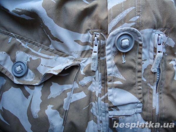 Фото 5 - Куртка милитари smock combat windproof desert  DDPM  (190,104)