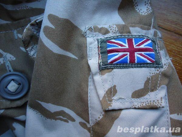 Фото 3 - Куртка милитари smock combat windproof desert  DDPM  (190,104)