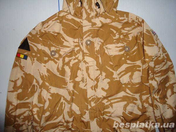 Фото 2 - Куртка милитари smock combat windproof desert  DDPM  (190,104)