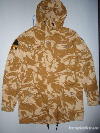 Фото - Куртка милитари smock combat windproof desert  DDPM  (190,104)