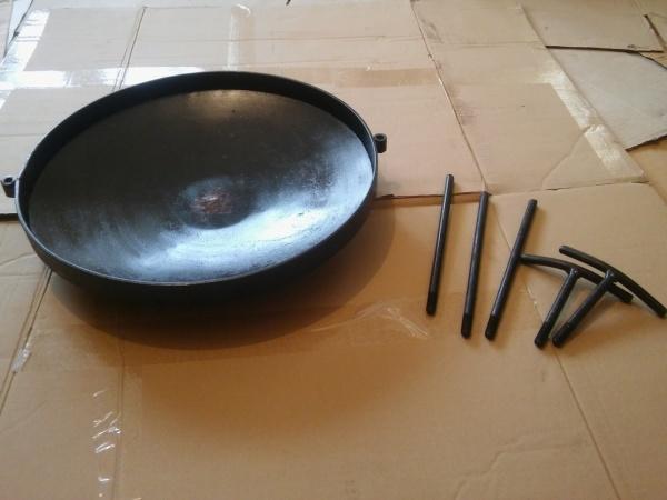 Сковорода для костра из диска, бороны барбекю мангал жаровня гриль