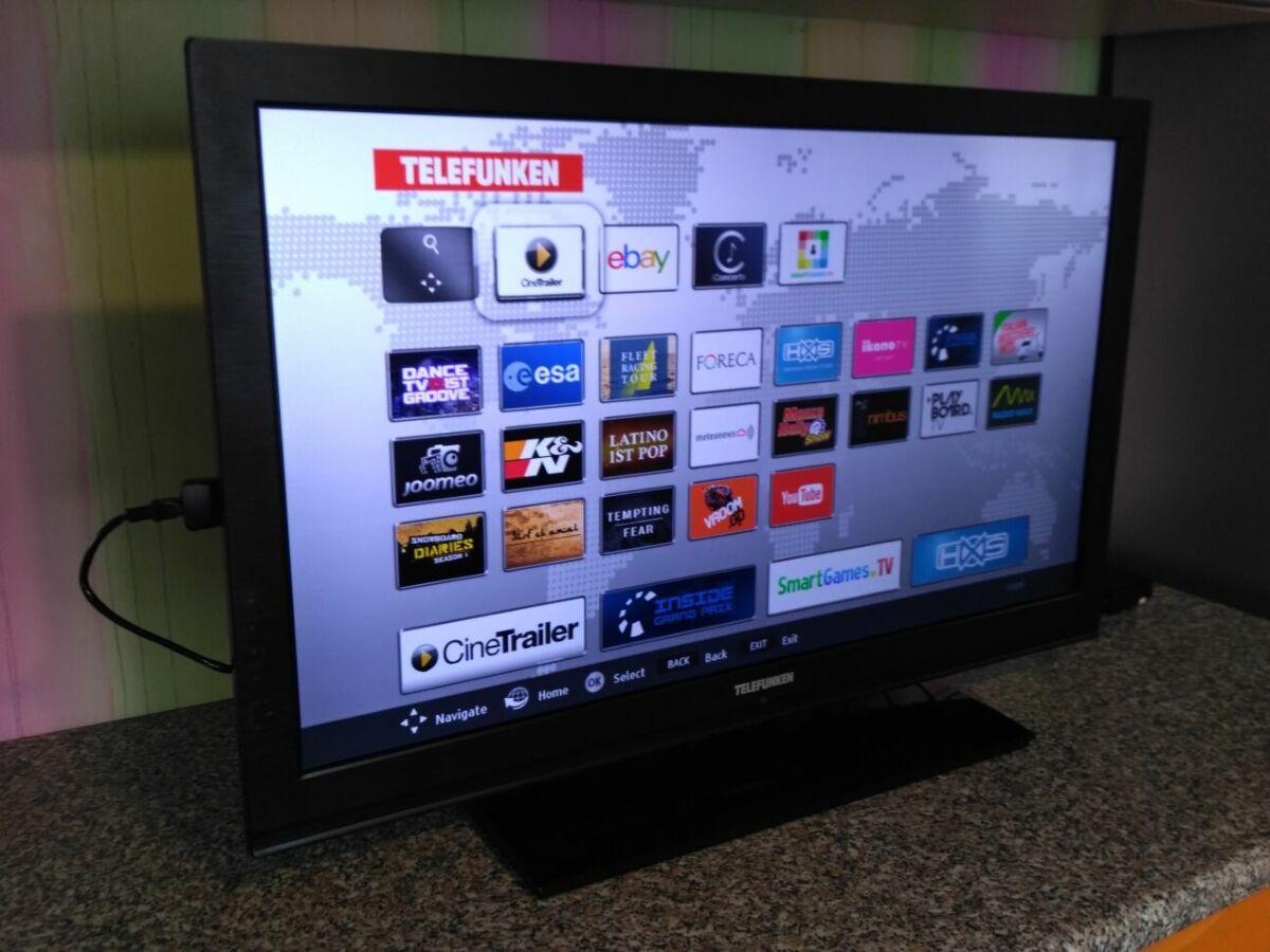 Ultra Slim Led телевизор Telefunken T32r982 Led Dvb-cts2
