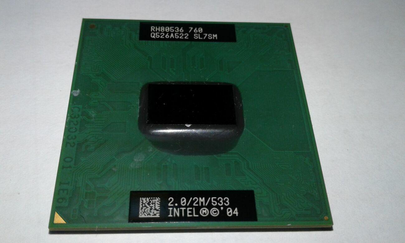 Процессор Intel Pentium M760 Rh80536 Sl7sm