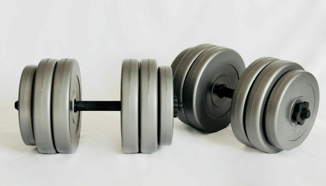 Гантели наборные Plenergy Grey 2х25 кг
