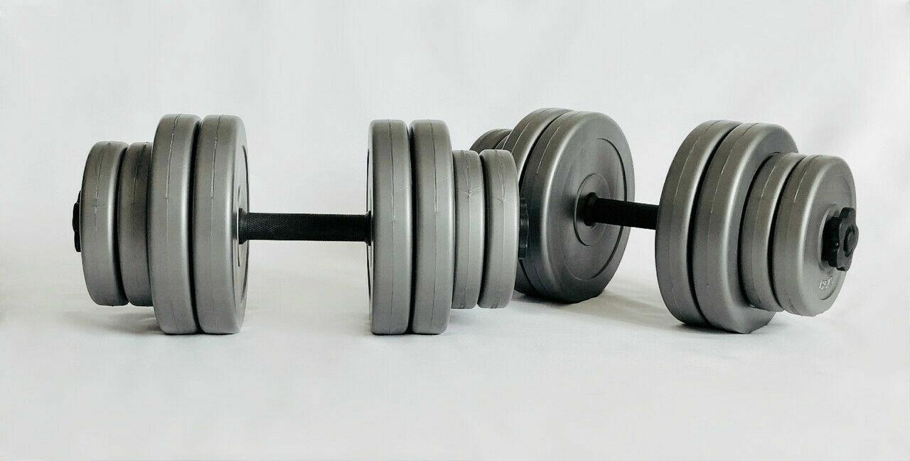 Гантели наборные Plenergy Grey 2х15 кг