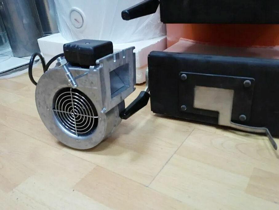 Автоматика для твердотопливного котла турбина вентилятор Wpa X2 (120)