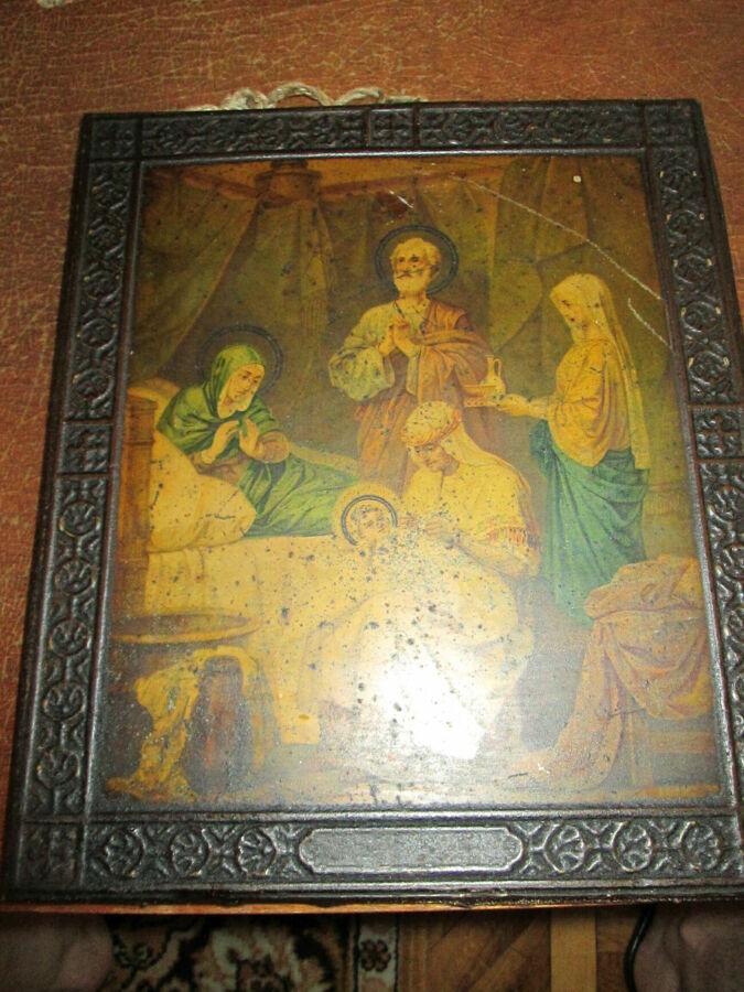 a682c5502af92 ... антиквариат Днепр · Антиквариат Днепр. Красивая антикварная икона 19-го  века. размер - 31 х 26 см.