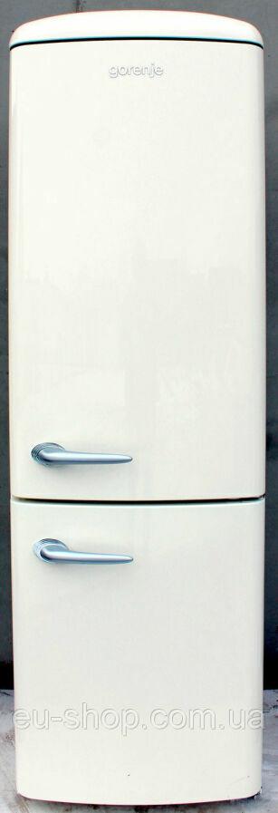 Retro холодильник Gorenje Rk 62358 Oc (188см) б/у