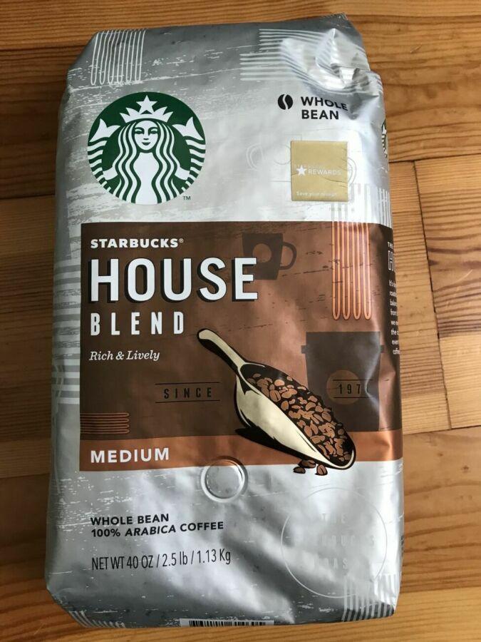 Кофе Starbucks House Blend сша зерновой 1,13кг/ кава старбакс америки