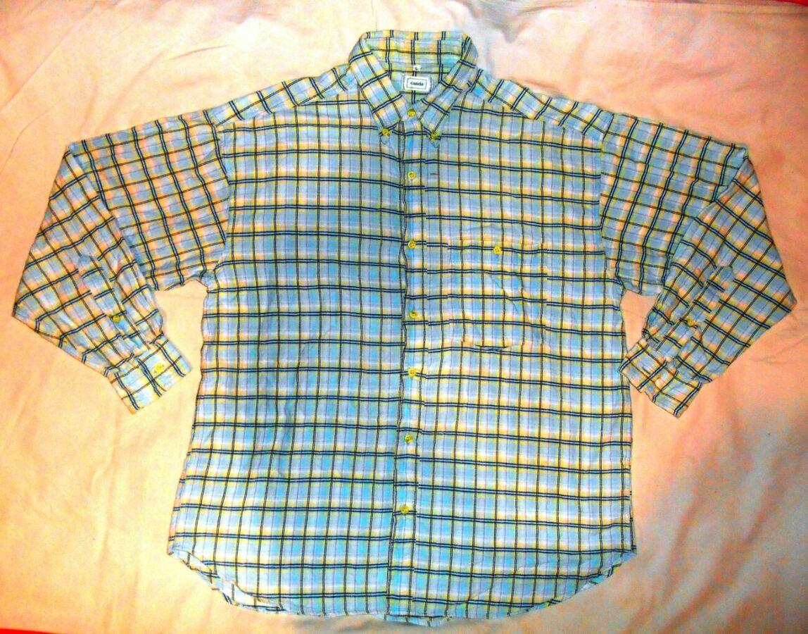 8e0cf9a34af2352 Мужская рубашка в клетку, бренд C&a Canda, в отличном состоянии ...