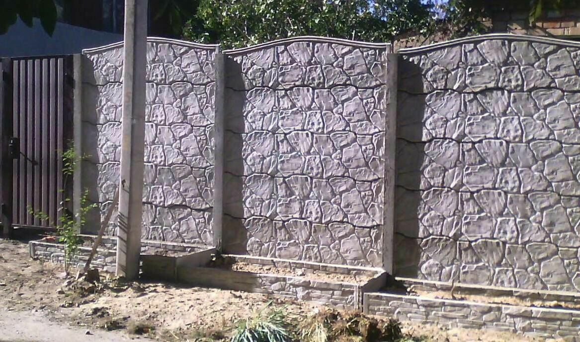 срок службы бетонного забора