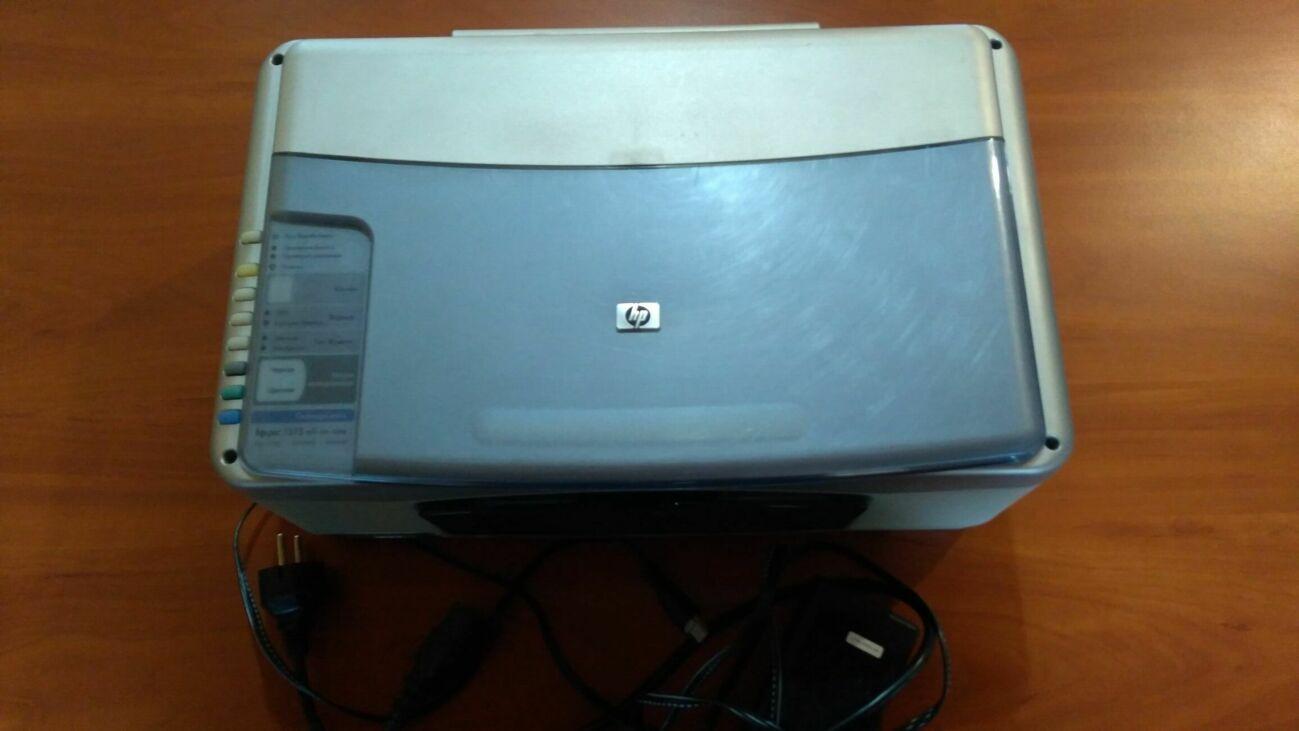 Принтер струйный цветной для печатания фотографий нр Psc 1315al-in-one