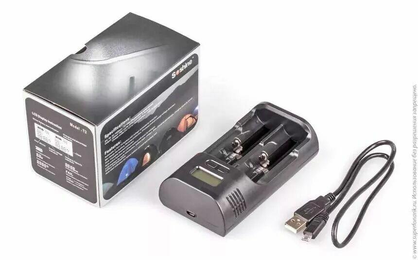 Зарядний пристрій для акумуляторів ааа \ аа \ літійіонні \ Soshine