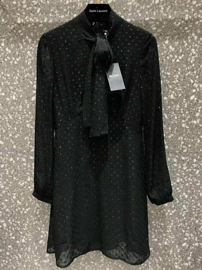 Платье Yves Saint Laurent Ysl