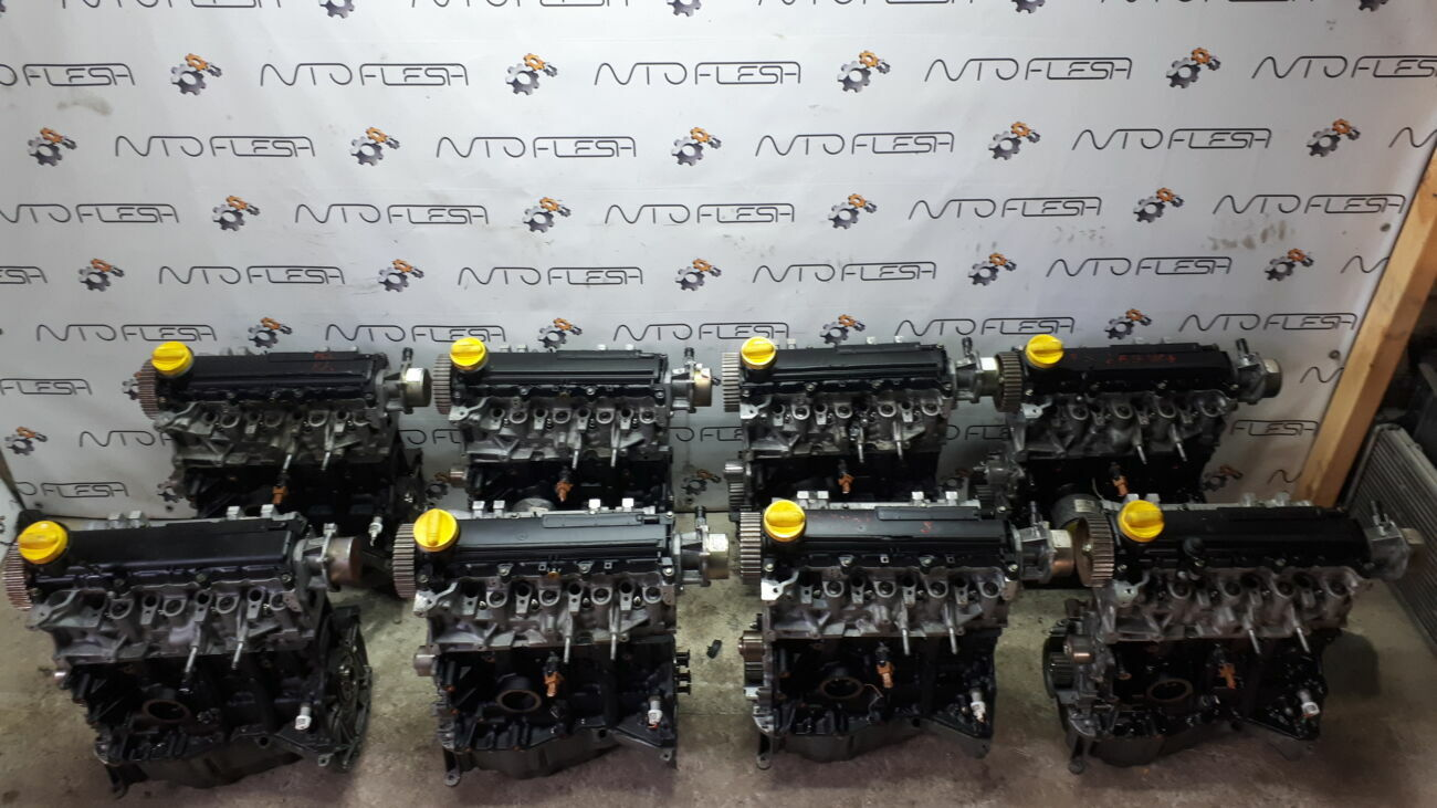 Б/у двигатель K9k 1.5 Dci Euro 3 Delphi Dacia/ Nissan/ Renault/ Suzuki
