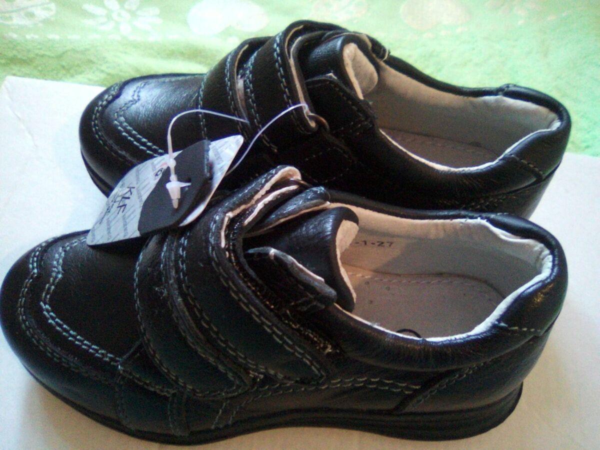 44751eb02292cd Нові кросівки-туфлі Kellaifeng для хлопчика р. 26-31.натуральна шкіра! 260  грн