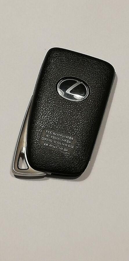 Программирование ключа лексус. ключ Lexus