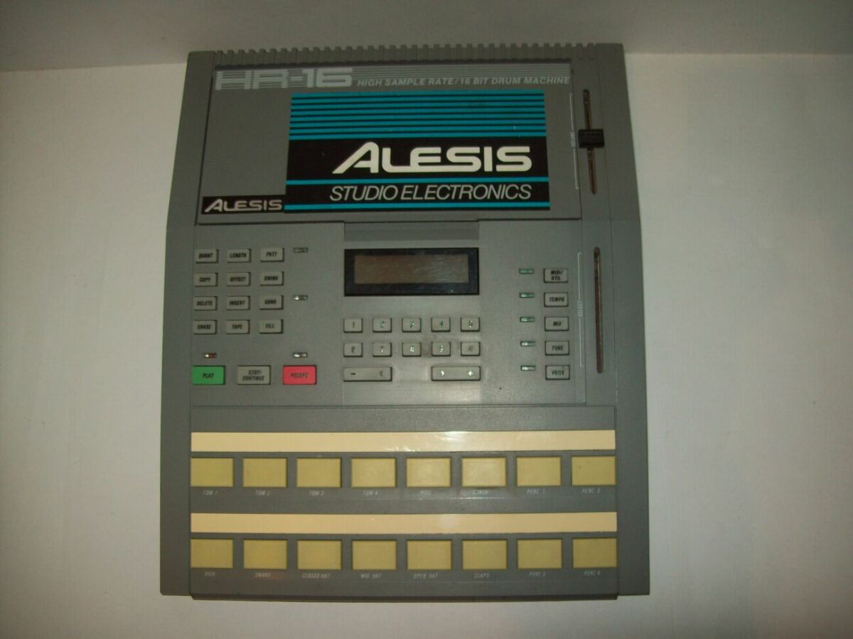 Драм машина Alesis Hr-16 Drum Machine