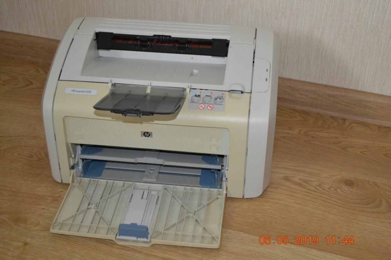 Hp Laserjet 1018  печатает идеально