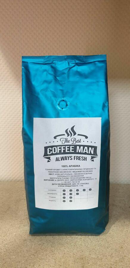 Свежеобжаренный кофе в зернах