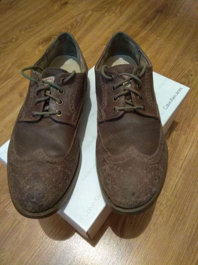 Туфлі броги Calvin Klein Jeans