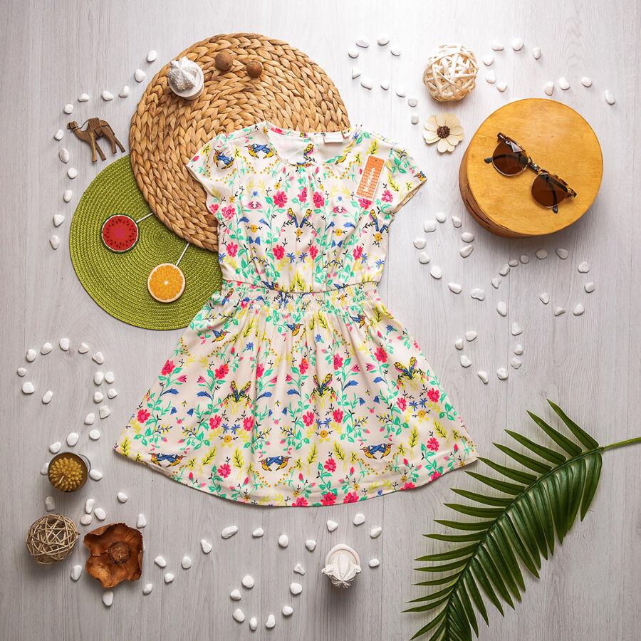 Летнее платье для девочки Bluezoo англия