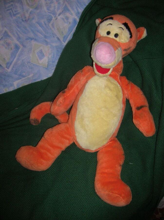 Тигр- большая мягкая игрушка 70х40 см