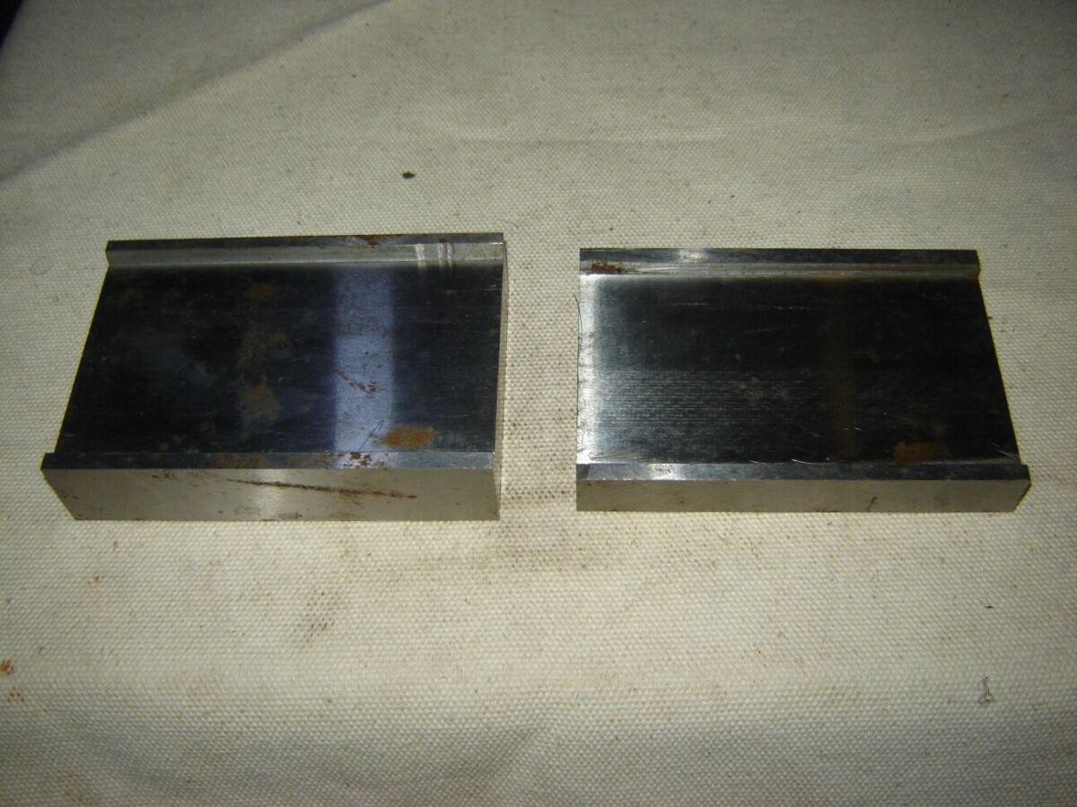 2 шт. стальные фрезерованные, полированные половины для литьевой формы