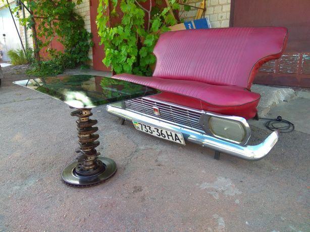 Продаю мебель из автомобиля - авто столик и диван из запчастей, Loft