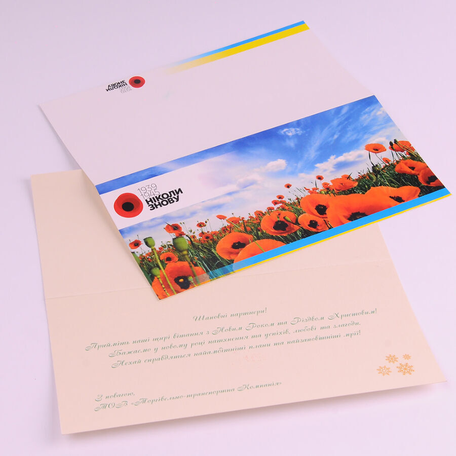Евро формат полиграфия размер открытка, красивые