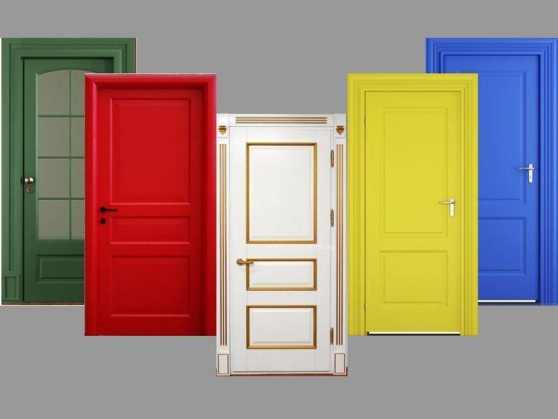 Внутренние двери  и грамотное окрашивание