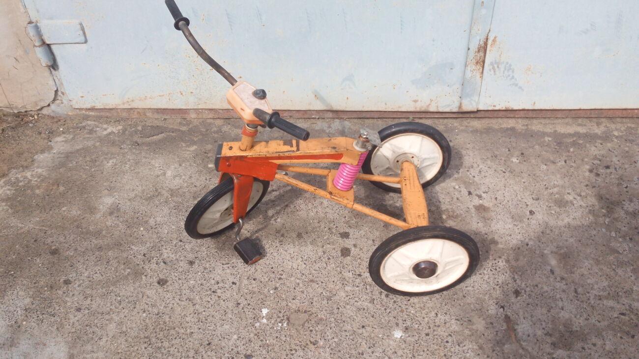 Детский велосипед сивка бурка ссср