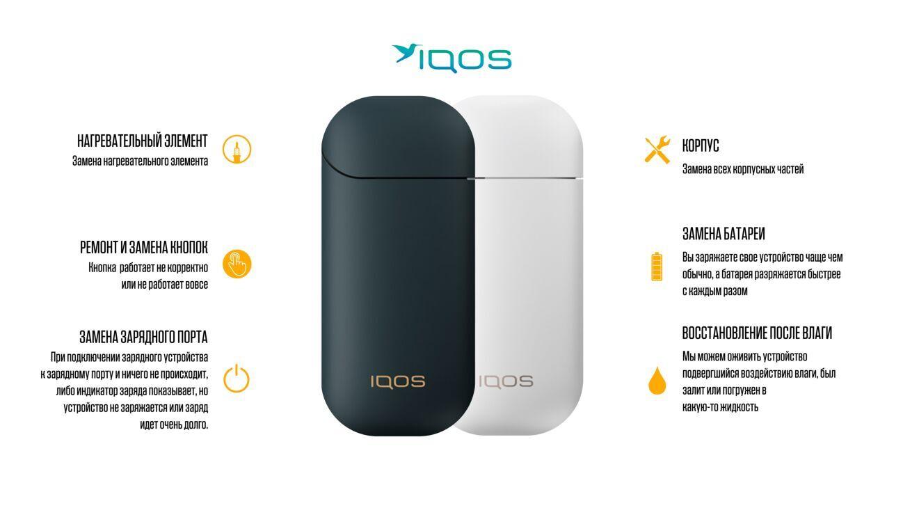 Ремонт и обслуживание Iqos
