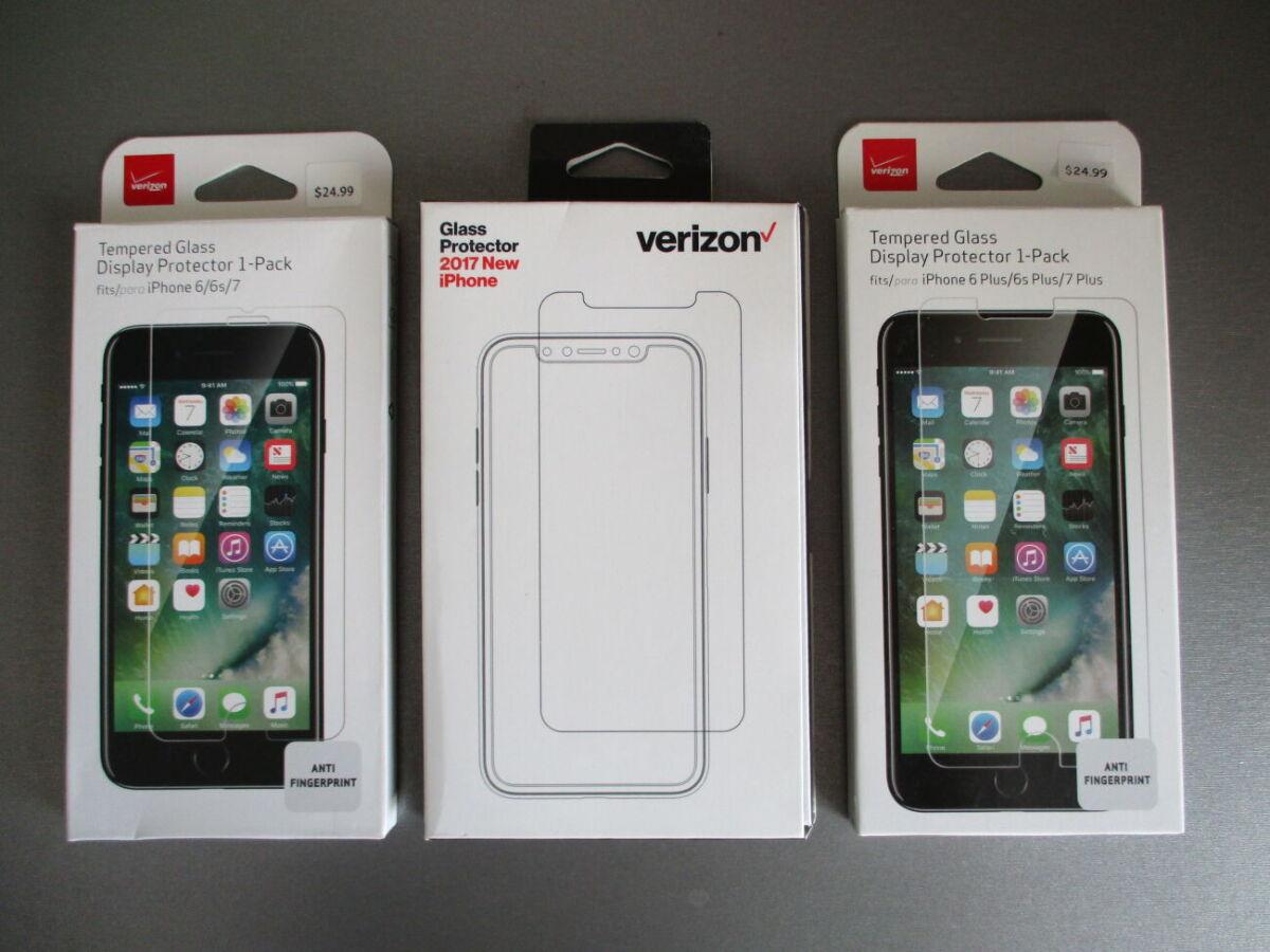 Фирменное американское защитное стекло для Iphone 6 6s 7  Plus