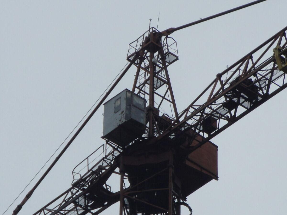 Кран башенный кб 676
