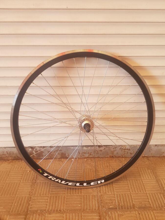 Вело колёса на двойном ободе под дисковым тормозом 20,24,26,28 дюймов