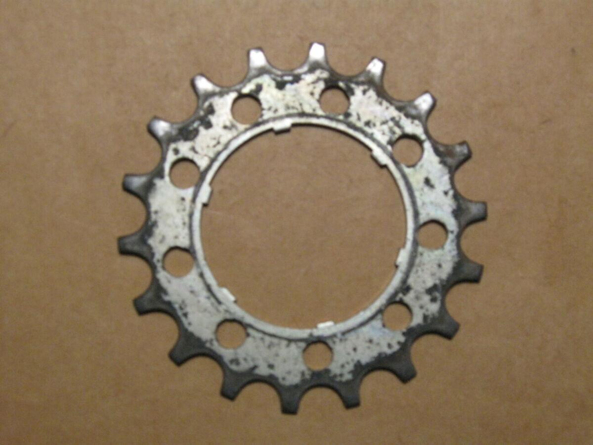 Звездочка задняя 18 зубьев для велосипеда «Турист»