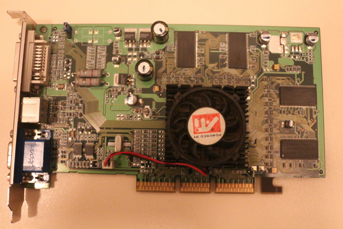 Видеокарта Ati Radeon 7500
