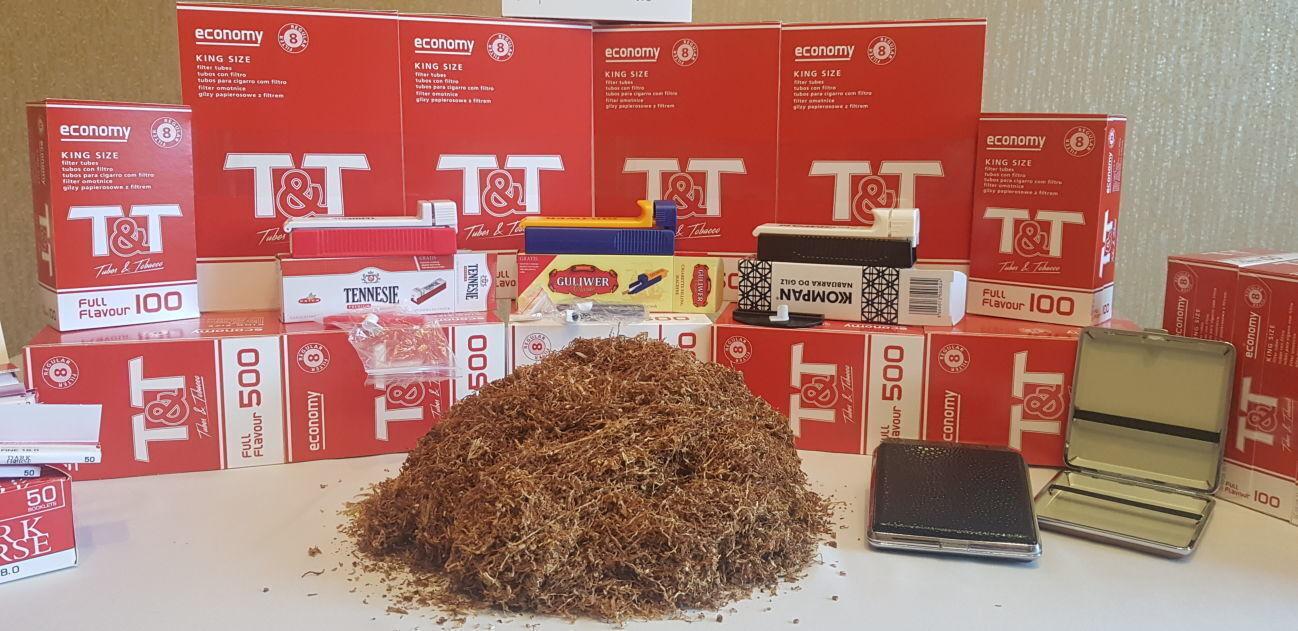 Табак вирджиния . порезка лапша .+ подарок машинка для набивки сигарет